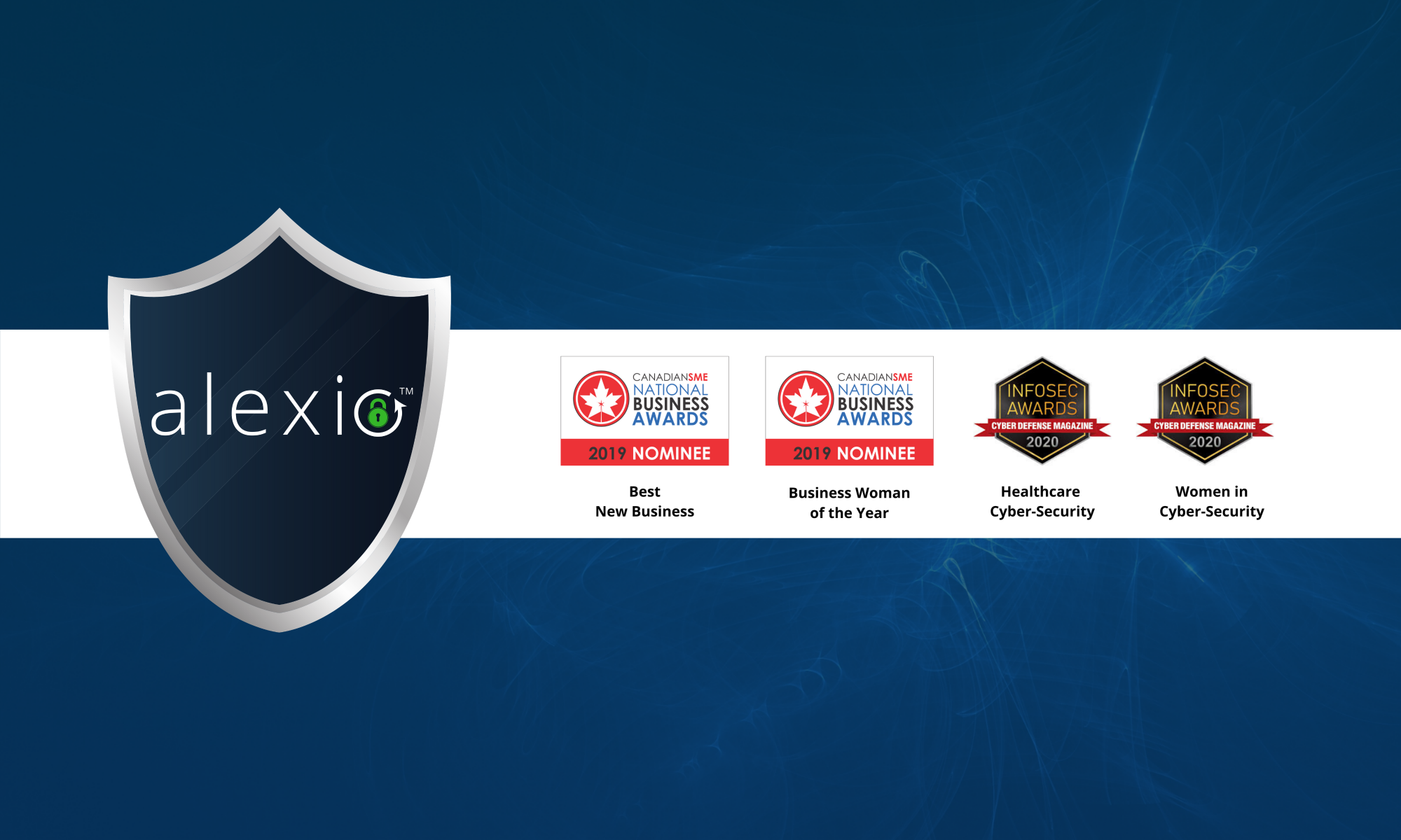 Alexio Awards Cyber Defence Awards Canadain Small Business Awards SME Awards Cyber-security